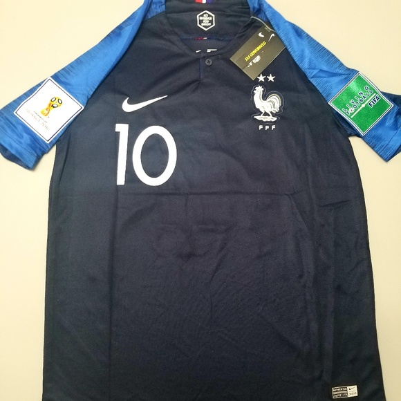 hot sale online 18cad 95c18 New World Cup Mbappe France 2* Jersey NWT